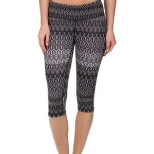 Prana Black Ibiza Maison Knicker Leggings